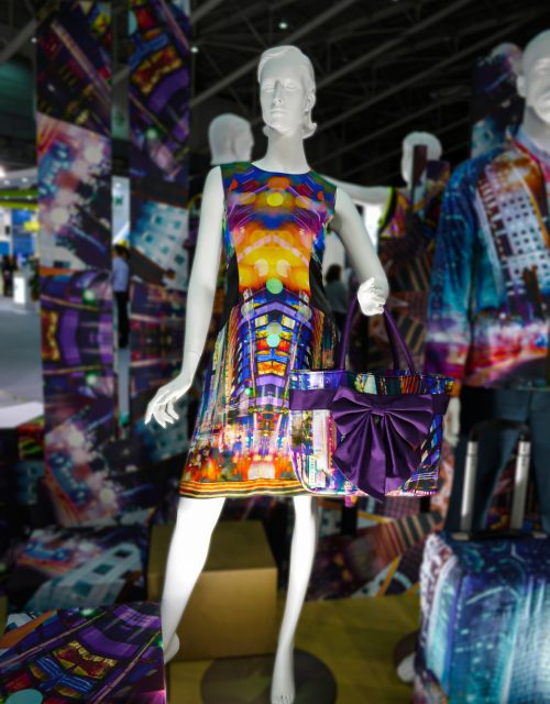 Display at 2015 Taipei Innovation Textile Application Show